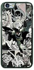 DC Comics Batman with black and white background Phone Case for iPhone Samsung