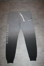 Hollister Men's Sweatpants Grey Blue White Size M,L or XL NEW WITH TAG