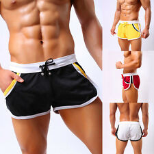 2017 New Men's Summer Casual Sports Gym Shorts Jogging Trunks Beach Short Pants