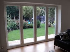 Brand new White uPVC Bi Folding Doors / MADE TO MEASURE