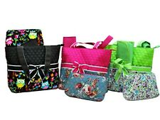 """Ori-Ori"" Quilted Floral Diaper Tote Bag/Mommy Bag/Shop Bag---BEST GIFT for Her"