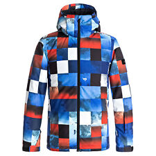 Quiksilver Mission Printed Youth Children's Snowboard Jacket Ski Winter Sports