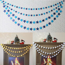Home Star Paper Garland Party Birthday Wedding Room Wall Door Hanging Decoration