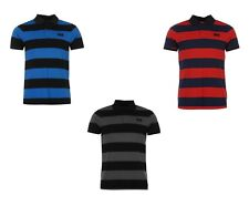MENS HELLY HANSEN STRIPED POLO SHIRT  RRP £34.99. BNWT - BLUE, RED OR GREY