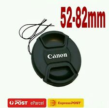 New Replacement Cap 52,55,58,62,67,72,77,82mm Snap-on Lens Cap For CANON