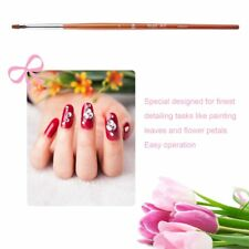 New Rosewood Nail Art Brush UV Gel Polish Nail Pull Pen Nail Salon Art Pen KG