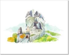 Castle Eltz In Germany Famous Art Print Home Decor Wall Art Poster - C