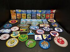 Large Assortment of NEW Vintage Patches - ALL NEW and SOME IN PACKAGE!