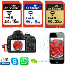 WiFi Wireless SDHC Card 8GB / 16GB / 32GB Class10 SD Card Camera Memory Card