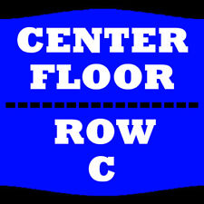 2 TIX LISA LAMPANELLI 3/31 FLOOR CENTER ROW C FIVE FLAGS CENTER DUBUQUE