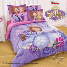 Disney Jr Princess Sofia Comforter w/ Shams (Sheet Set Separate)
