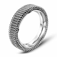 Ring Size 6 7 8 9 10 Stainless Steel Wedding Wear Finger Ring For Women A117