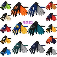 NFL,MLB,NBA,NHL Team Texting Technology Gloves