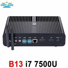 Partaker B13 Mini PC with 7th Gen Kaby Lake Intel Core i7 7500U Winows 10 Linux