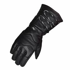 Motorcycle Gloves Cowhide Winter Riding Leather Biker Leather Long Gloves