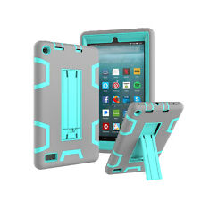 Shockproof 3in1 Hybrid Duty Defender Case For Amazon Kindle Fire 7 Kindle Fire 8