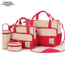 5pcs baby diaper bag suit