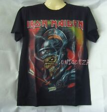 IRON MAIDEN Both Sides T-shirt Heavy Metal Rock Band Shirt NWT