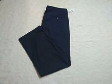 OLD NAVY STRAIGHT KHAKI PANTS MENS SIZE 44X34 CLASSIC NAVY COLOR NEW NWT