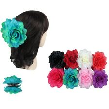 USA 6pcs Women Girl Rose Flower Hair Clamp Claw Clip Jaw Pin Party Wedding Lot