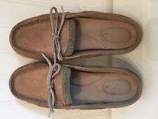 SPERRY Top Sider Tan Leather Slides Slip On Mule Shoes Women's Size 6M