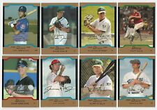 2004 Bowman Draft Picks GOLD Parallel Complete Team Set 13 Available Rookie RC