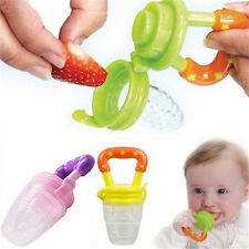 Baby Pacifier Feeding Fresh Food Baby Supplies.Safe Nibbler Feeder Tool F&F