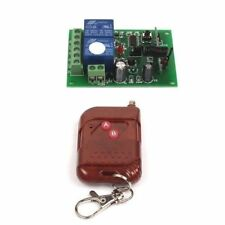 12V 2CH Wireless Switch Relay Remote Control Transmitter+Circuit Receiver ON/OFF