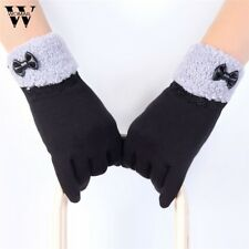 Womail Winter Warm Gloves Mittens 6 Colors Finger Female Mitts Gants Femme for W