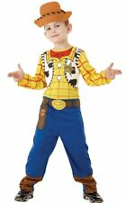 Licensed Toy Story Boys Classic Woody Costume Genuine Rubies - New
