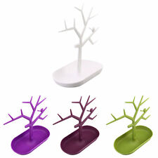 Jewelry Necklace Ring Earring Tree Stand Display Organizer Holder Rack LGC