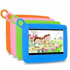 7'' inch Google Android 4.4 Quad Core 8GB HD WIFI Tablet PC For Kids Child Gifts