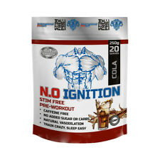 International Protein N.O Ignition -Pre-Workout Energy Nitric Oxide Creatine NO