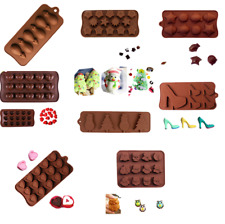 Silicone Chocolate Mold Cake Decorating Candy Cookie Soap Ice Cube Jelly Mould