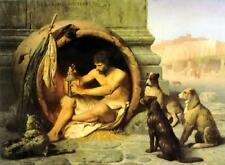 Classic French Academic Painting of Philosophy: Diogenes by Jean Leon Gerome
