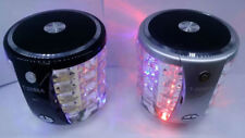 Bluetooth Speaker colorful light Card Speakers T2096A subwoofer sound flash RA