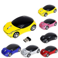 2.4GHz 1200DPI Wireless Optical Mouse USB Scroll Car Mice for PC Tablet Laptop