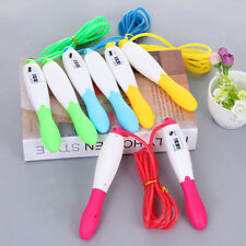 Skipping Rope Jumping Exercise Fitness Adjustable Calorie Counter Jump Count New