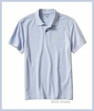Banana Republic Mens PIQUE POLO BLUE Shirt S/L/XL Brand NeW FREE FAST SHIPPING