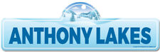 Anthony Lakes Street Sign   Snowboarder, Décor for Ski Lodge, Cabin, House