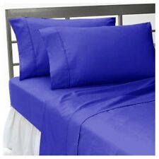 Egyptian Blue Luxury Bedding Collection 1000 TC 100%Egyptian Cotton All US Size