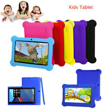 Kids Tablet PC 7 Screen Android 4.4 8GB Case Bundle Dual Camera 1.2Ghz Wi-Fi