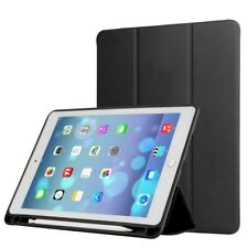 PU Leather Tri-fold Stand Smart Cover with Pen Slot for iPad Pro 10.5inch (2017)