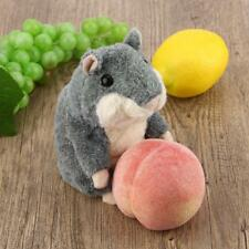 Cute Cotton Talking Hamster Plush Toy Speaking Talking Sound Record Toys Gift