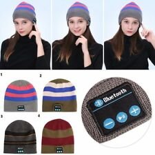 Winter Hat Wireless Bluetooth 4.1 Smart Cap Headphone Headset Speaker Mic NEW