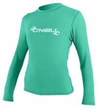 Oneill Womens Basic Skins Long Sleeve Rashguard Long Sleeve Rashguard