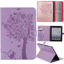 Cover Case For Apple iPAD 1 2 3 4 Samsung Galaxy Tab A Tablet PU Leather holster