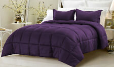 Super Soft Down Alternative Striped Comforter Set, King Size and Colors