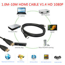 1.0M-10M HDMI CABLE V1.4 HD 1080P For LCD HDTV TV PS4 PS3 3D XBOX Bluray lot K3