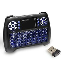 Mini Wireless Bluetooth Backlight Touchpad Keyboard with Mouse Combo Rechargable